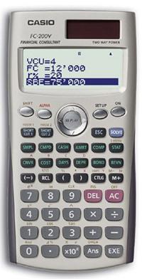 Программируемый калькулятор Casio FC 200V