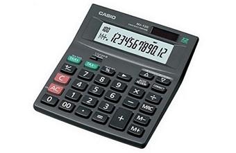 Настольный калькулятор Casio MJ 120T