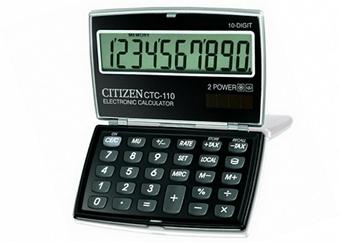 Карманный калькулятор CTC-110BK