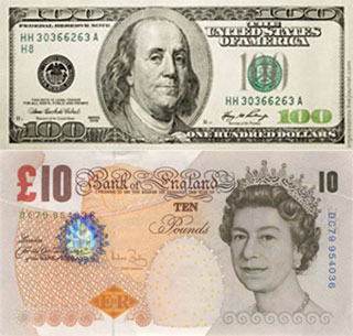 Калькулятор курса доллара к фунту стерлингов
