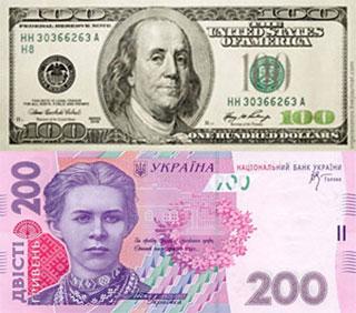 Калькулятор курса доллара к гривне