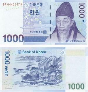 Калькулятор курса корейского вона к рублю