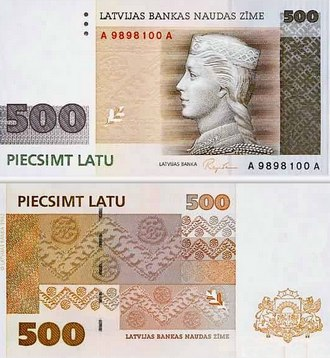 Калькулятор курса латвийского лата